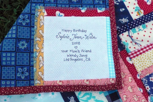 Whiskers on Kittens : handmade quilt labels - Adamdwight.com